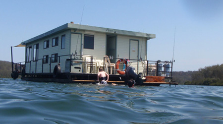 Our Houseboats for hire in Batemans Bay